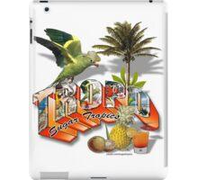 sugar tropics iPad Case/Skin