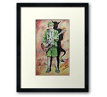 Back to Hell Framed Print
