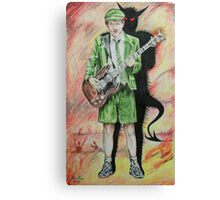 Back to Hell Canvas Print
