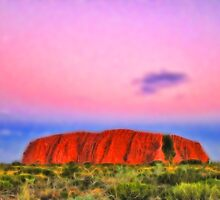 Ayers Rock. Uluru National Park. Australia. by vadim19