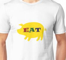 Eat Pork tee-shirt and stickers Unisex T-Shirt