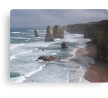 Twelve Apostles..Great Ocean Road..2 Canvas Print