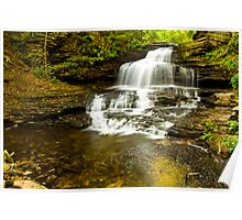 Onondago Waterfalls Poster