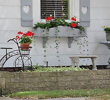Bicycle Planter and Window Flower Box by mltrue