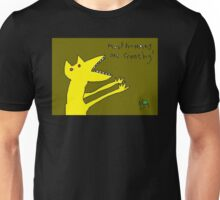 """Most Humans are Crunchy"" by Richard F. Yates Unisex T-Shirt"