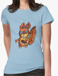 Squirrel WC Womens Fitted T-Shirt