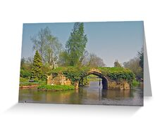 Medieval Bridge, River Avon Greeting Card
