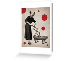 Anthropomorphic N°17 Greeting Card