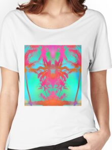 Tropical Walks Women's Relaxed Fit T-Shirt