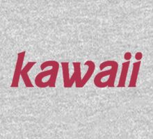 Kawaii (Cute in Japanese) Design Kids Clothes
