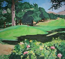 For the Love of Golf by Leslie Gustafson