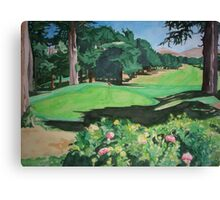 For the Love of Golf Canvas Print