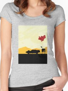 Fury Road - silhouette Women's Fitted Scoop T-Shirt