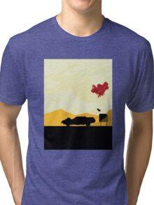 Fury Road - silhouette Tri-blend T-Shirt