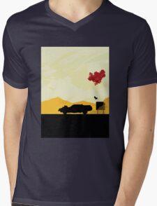 Fury Road - silhouette Mens V-Neck T-Shirt