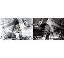 Random thoughts: Light n' shade Photographic Print