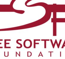 Free Software Foundation Sticker