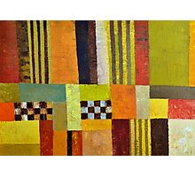 Color and Pattern Abstract Photographic Print