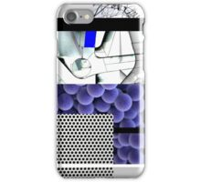 Cool blue abstract iPhone Case/Skin