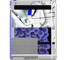Cool blue abstract iPad Case/Skin