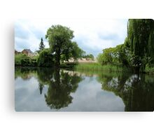 Rural Tranquillity  Canvas Print
