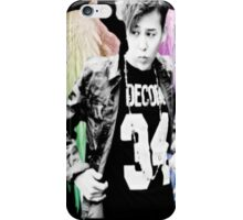 Jiyong w/ Angel Wings  iPhone Case/Skin