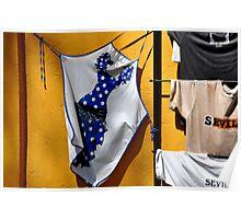 SEVILLA! Sexy apron as a souvenir... ;-) Poster