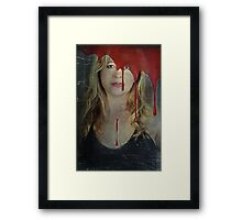 It's All About The Pain Framed Print
