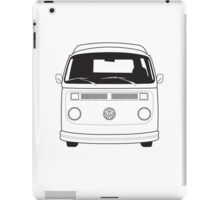 Late Bay VW Camper Line Art iPad Case/Skin
