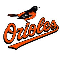 baltimore orioles Photographic Print