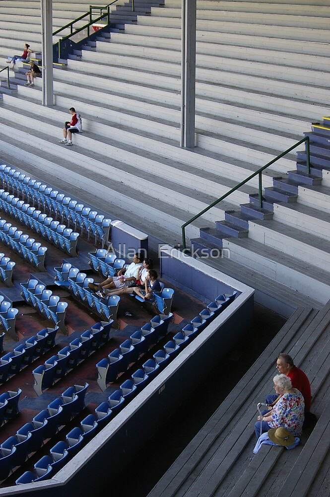 what if they played a game and nobody came? by Allan  Erickson