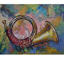 Hunting Horn Photographic Print