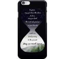 May We Meet Again Speech  iPhone Case/Skin