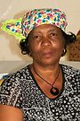 Lady with Curacao traditional headcovering - portrait 2 by steppeland