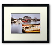 Peggy's Cove Dawn Framed Print