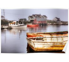 Peggy's Cove Dawn Poster