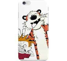 Calvin and hobbes Best friends forever  iPhone Case/Skin