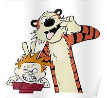 Calvin and hobbes Best friends forever  Poster