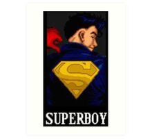 Superboy Art Print
