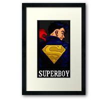 Superboy Framed Print