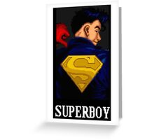 Superboy Greeting Card