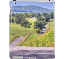 Hilly Country Road iPad Case/Skin