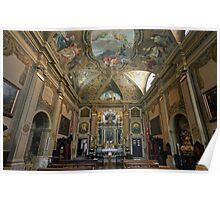 Church in Udine,Italy Poster