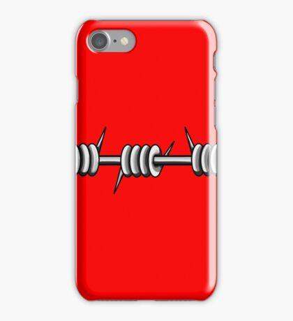 Barbed Wire 1 Design  iPhone Case/Skin