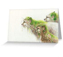 Of Vines & Fur Greeting Card