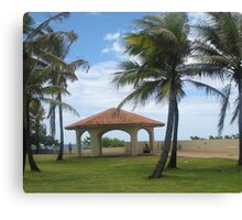Gazebo in San Juan Canvas Print