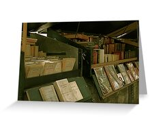 Bookseller's paradise Greeting Card