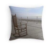 Just Me and the Sea Throw Pillow