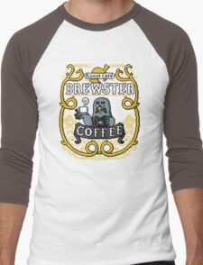 Brewster's Cup of Coo'ffee  Men's Baseball ¾ T-Shirt