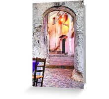 Old Calabria Greeting Card